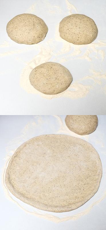 Testo za pizzo rastegnjeno