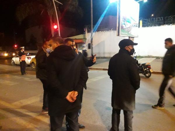 بالصور:استنفار أمني بمختلف مصالح الأمن بمدينة القنيطرة وإشراف شخصي للوالي على الحملات الأمنية