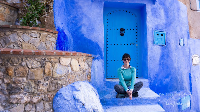 morocco chefchaouen blue gate