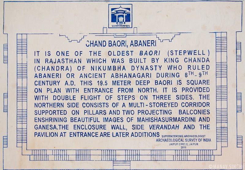Chand Baori' Step Well