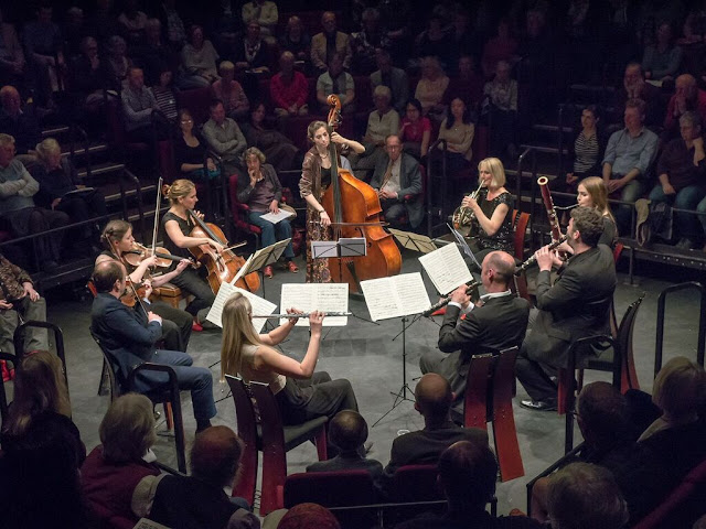 Ensemble 360 at Crucible Theatre, Sheffied (Photo Music in the Round)