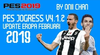 Download PES Jogress v4.1.2 European Update 2019 ISO Texture & Savedata by Oniichan