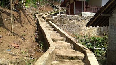 Akses Jalan Menuju Makam Syekh Abdul Kohar Pandawa