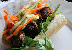 Recently- Vietnamese Meatball Banh Mi