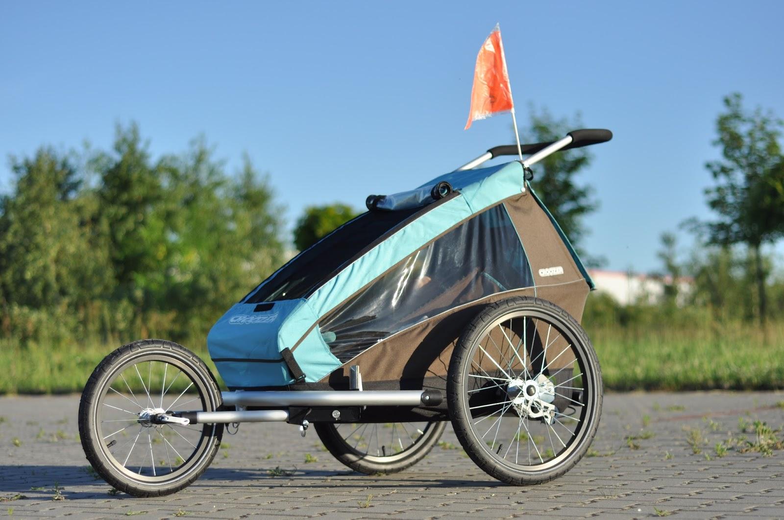 przyczepka rowerowa wózek do biegania jogger croozer kid plus