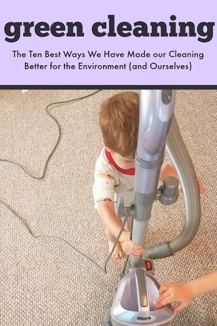 The Ten Best Ways We Have Made our Cleaning Better for the Environment (and Ourselves)