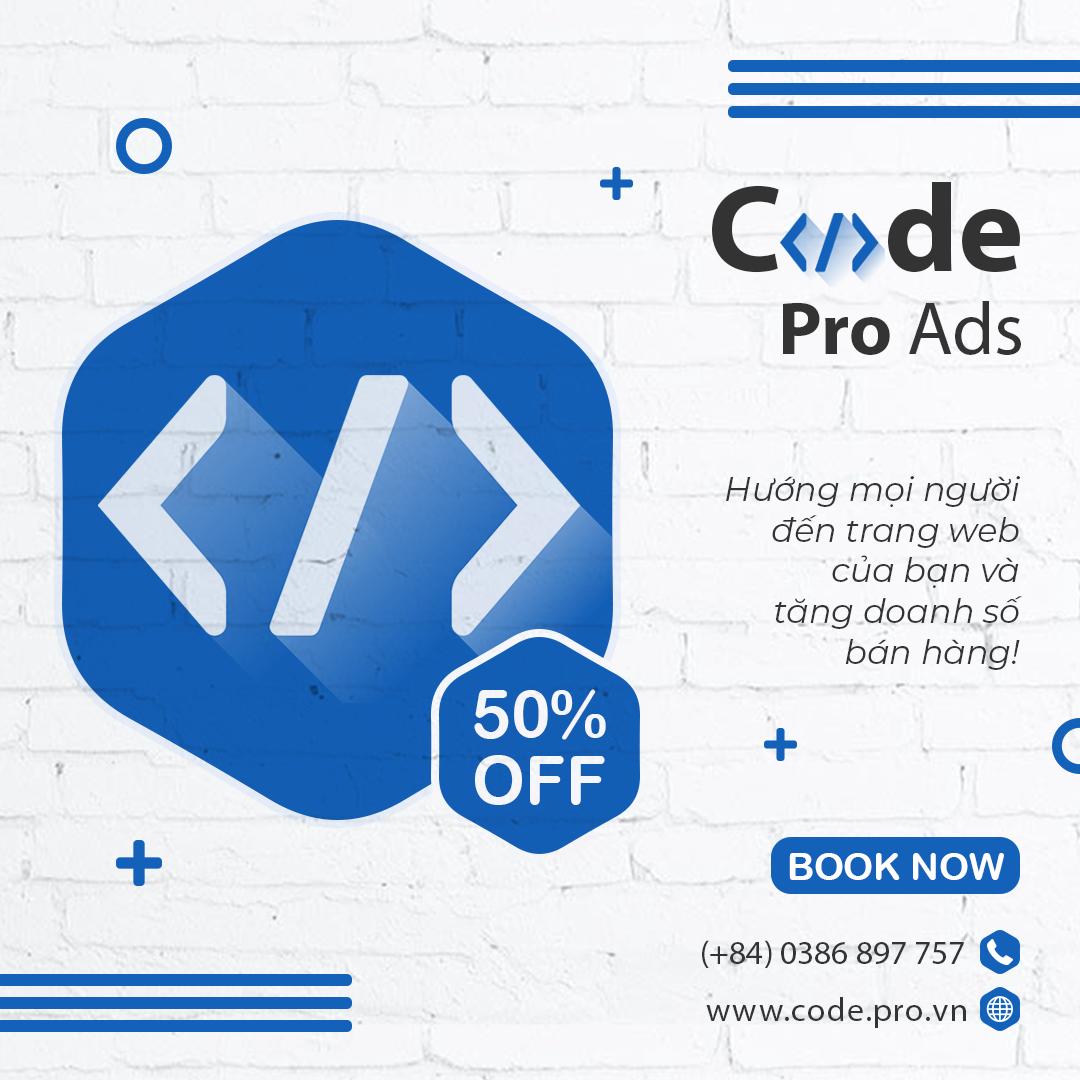 code pro ads