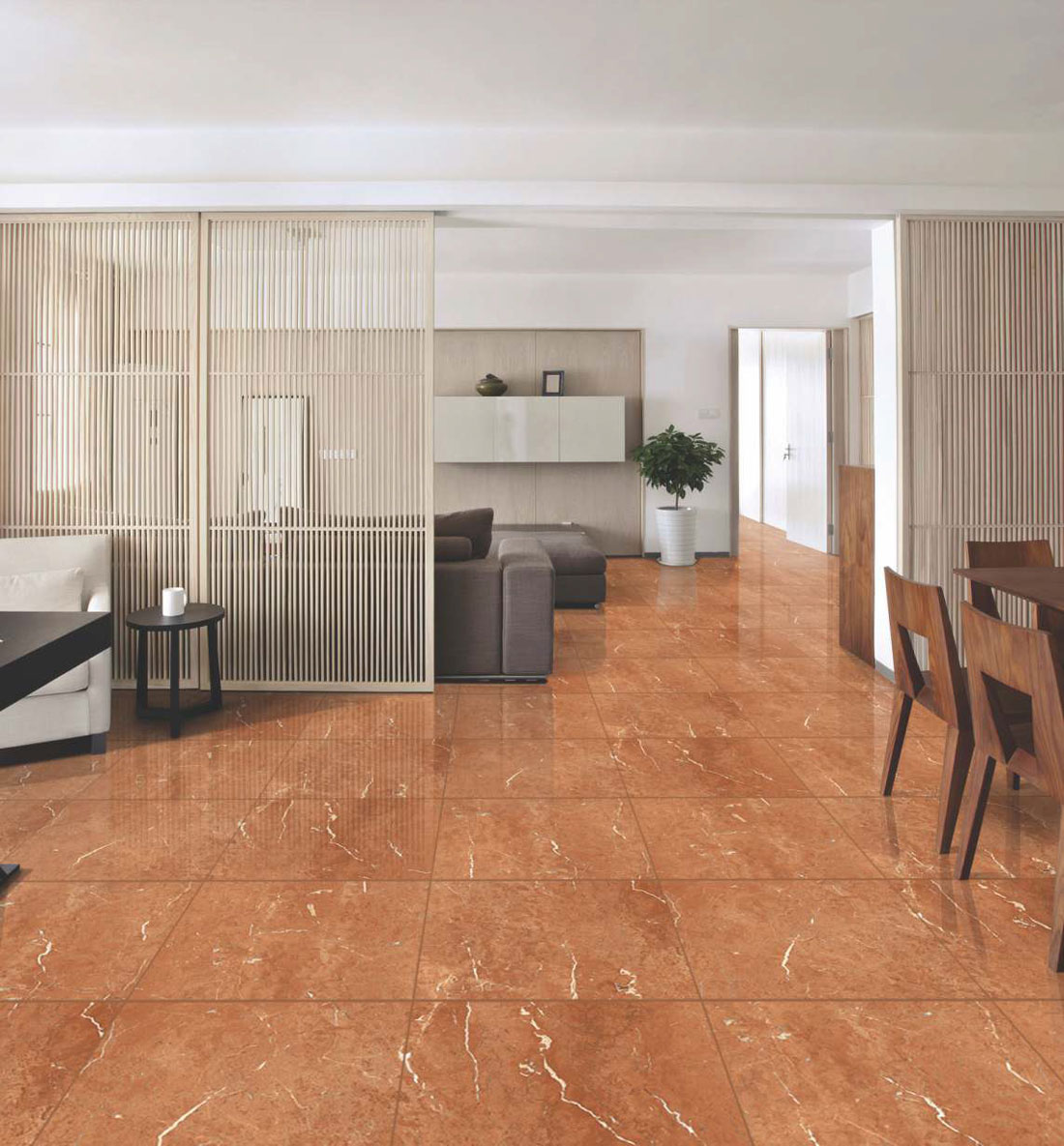 Vitrified glazed tiles