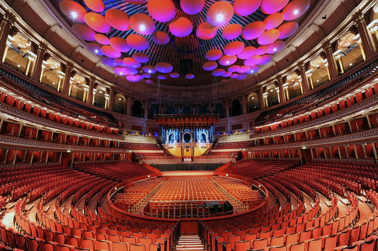 El mirador nocturno royal albert hall for Door 4 royal albert hall