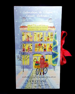 calendario avvento 2016 l'occitane contenuto