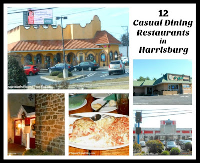 12 Casual Dining Restaurants in Harrisburg