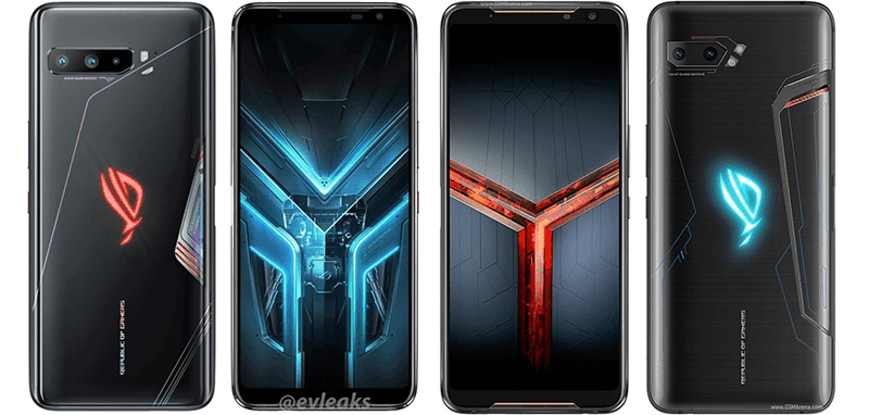 Alleged renders of ROG Phone 3 leaked with triple cameras, no notch, RGB ROG logo