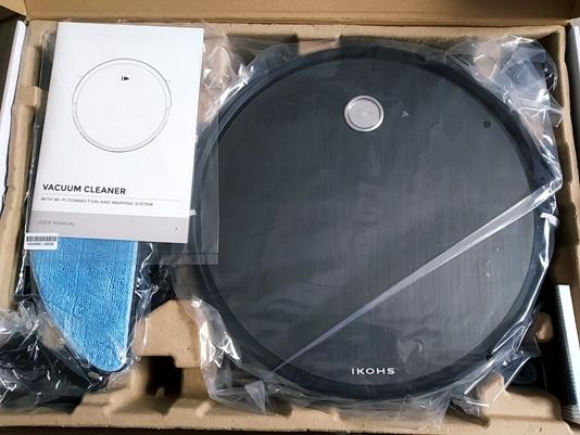 Ikohs Netbot S14: caja y accesorios incluidos