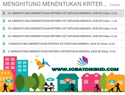 Download Aplikasi KKM KTSP Otomatis Format Excell I Sobat Dikbud