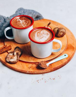 Mushroom hot beverages