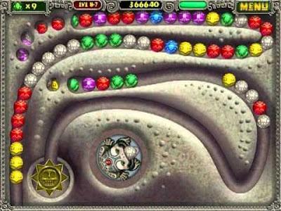 รีวิวเกม PC Zuma Deluxe