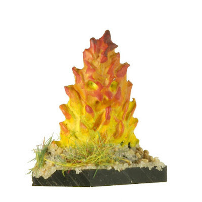 FEL606 Lesser Fire Elementals x20
