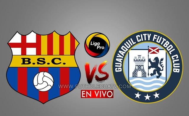 Barcelona SC choca ante Guayaquil City en vivo a partir de las 20h00 hora local, por la jornada doce del campeonato ecuatoriano, siendo emitido por Gol TV Ecuador a jugarse en el Estadio Monumental Isidro Romero. Con arbitraje principal de Marlon Vera.