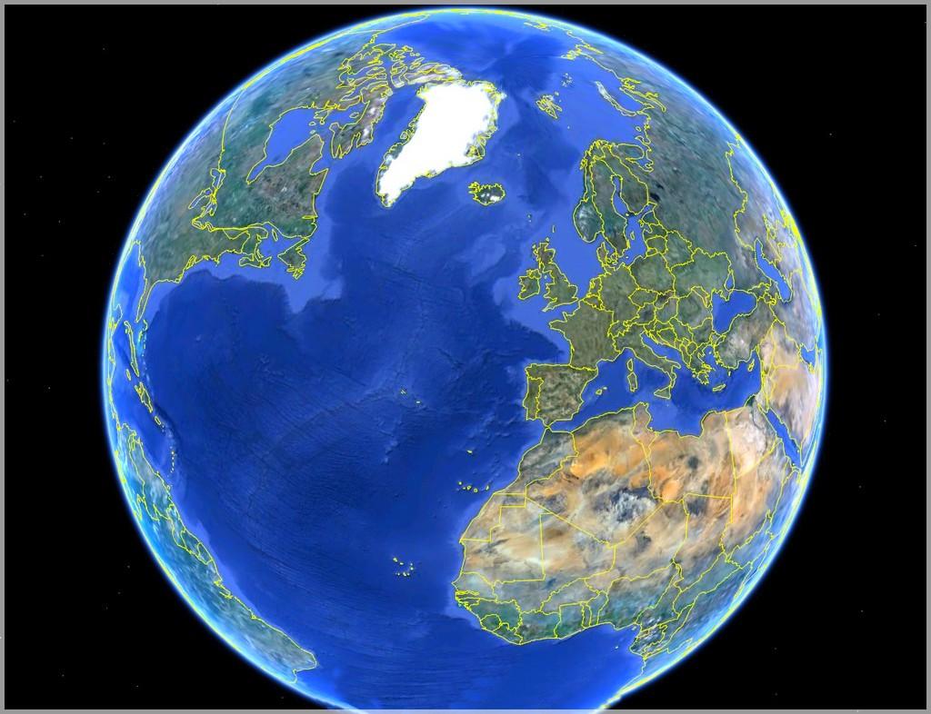 terre planète bleue