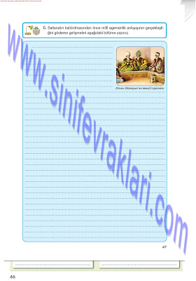 Top Yayınları 8. Sınıf İnkılap Tarihi Çalışma Kitabı Cevapları Sayfa 47