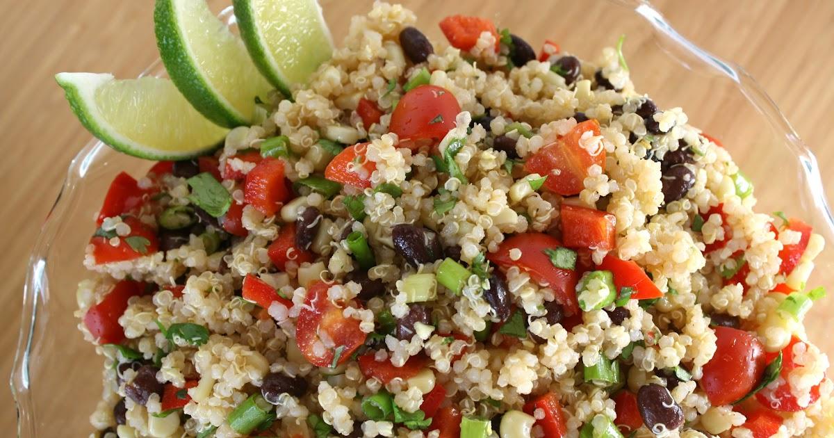The Garden Grazer Mexican Quinoa Salad
