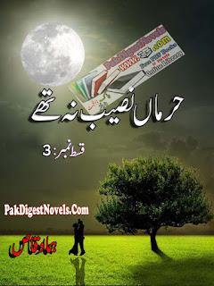 Harmaan Naseeb Na Thay Novel Episode 3 By Huma Waqas Pdf Free Download