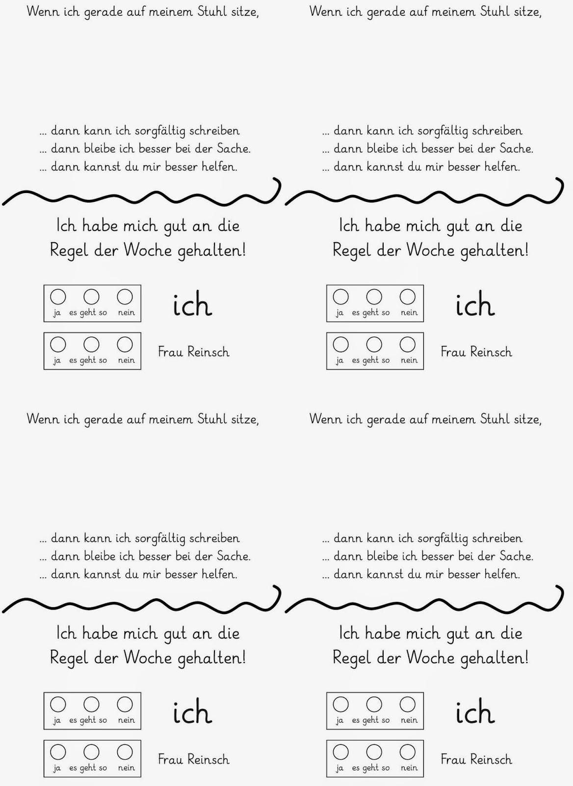 Klassenregeln grundschule bildkarten  Lernstübchen: die verflixten Klassenregeln
