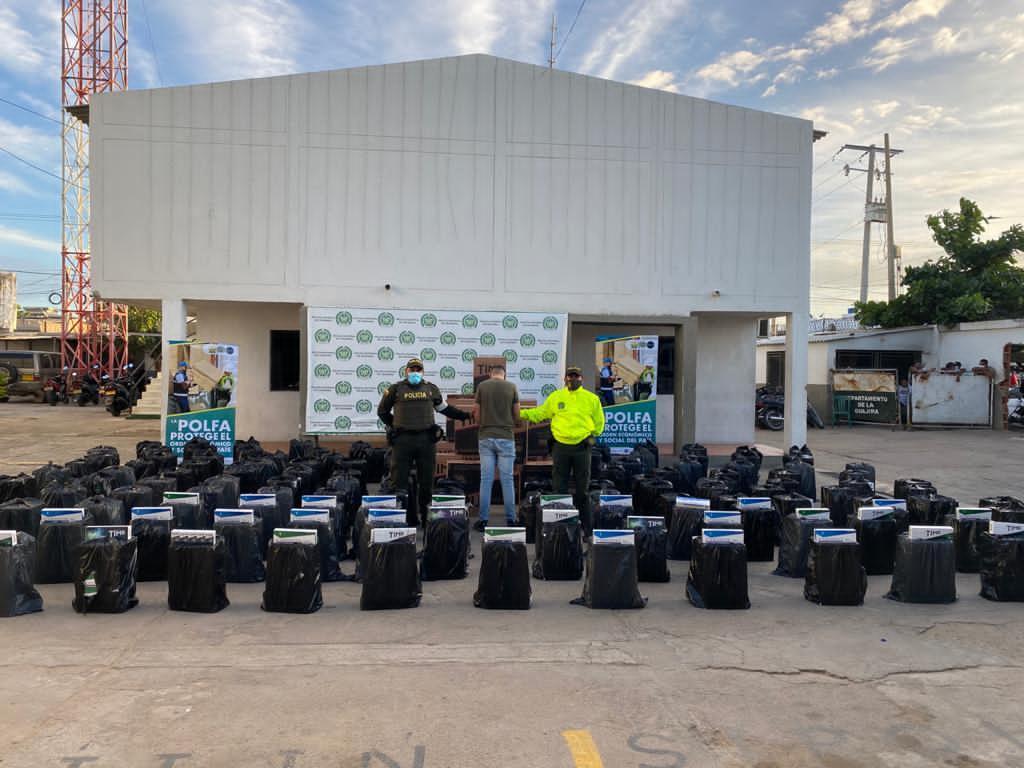 hoyennoticia.com, En Maicao incautan contrabando por $196 millones en cigarrillos y licores