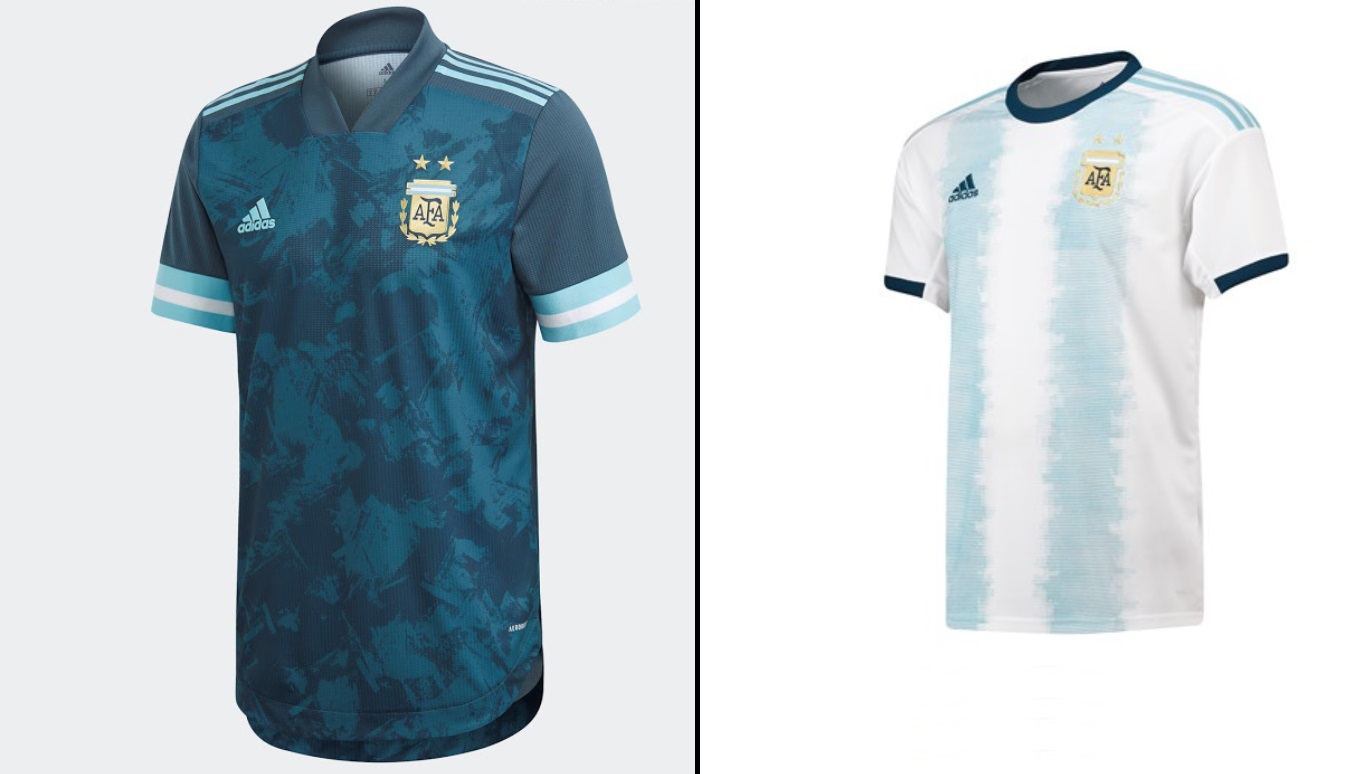 Argentina Copa America 2020 Kits Home Away