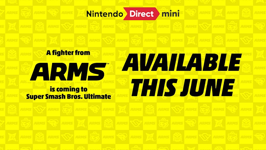 arms fighter super smash bros ultimate fighter pass vol 2 dlc nintendo switch 3d fighting game