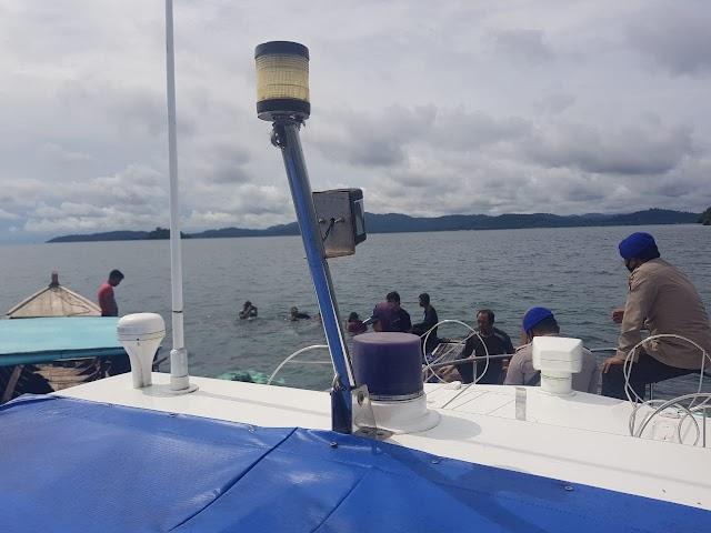 Laka Laut Kapal KM. Batera Melayu Di Perairan Pulau Kekek Kec. Selayar