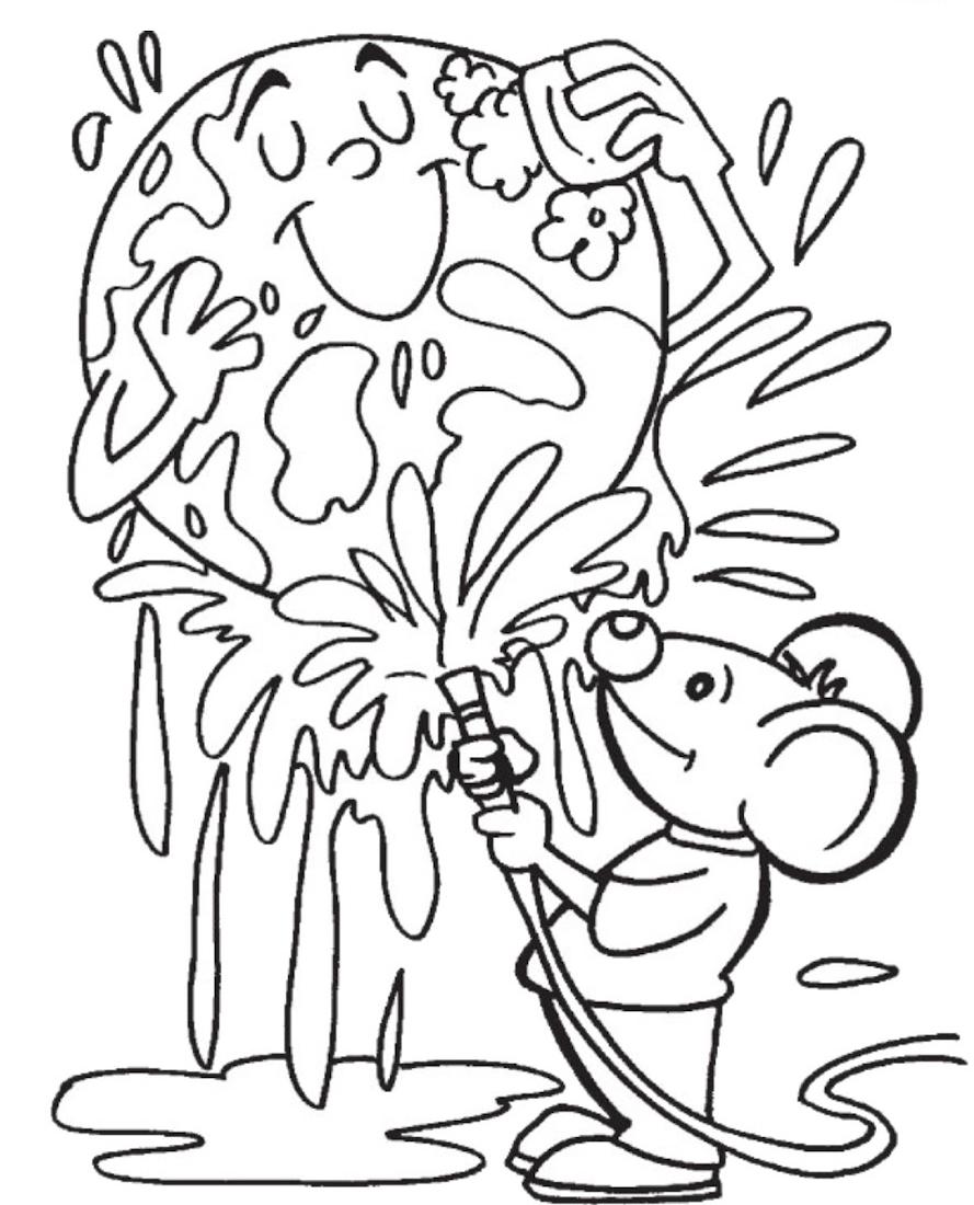 Desenhos Para Colorir Meio Ambiente Cantinho Do Educador Infantil