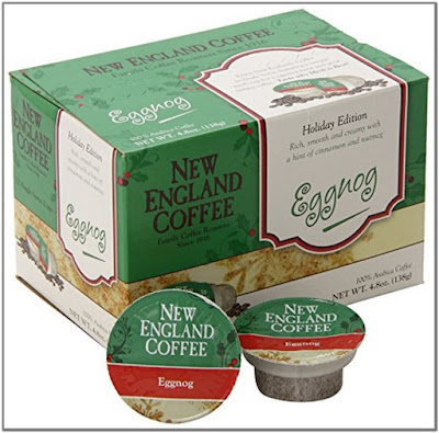 New England Coffee Eggnog K Cups;New England Coffee K Cups;