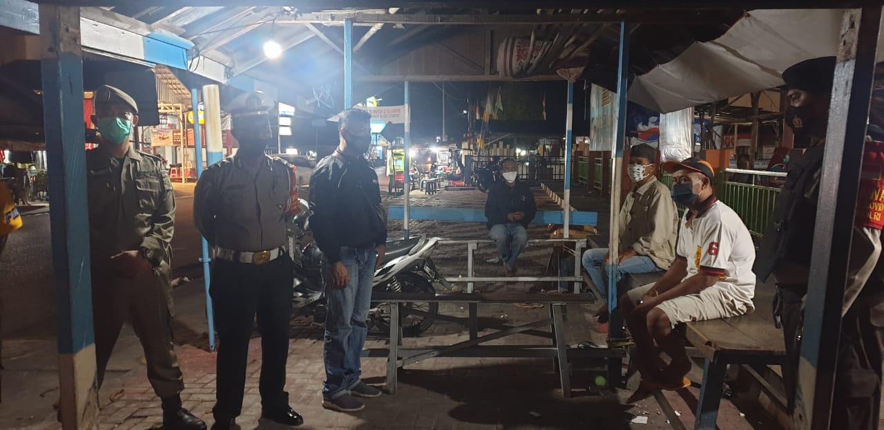 Gelar Pendisiplinan Malam Hari, Patroli Gabungan KRYD Polres Barsel Sasar Beberapa Tempat Rawan