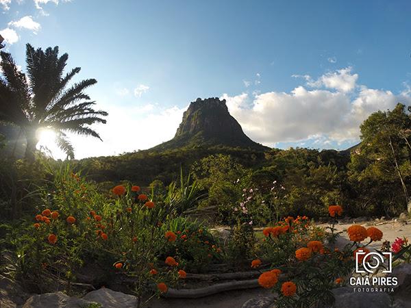 Morro do Castelo ou Morro da Lapinha, no Vale do Pati. (Foto: Caiã Pires)