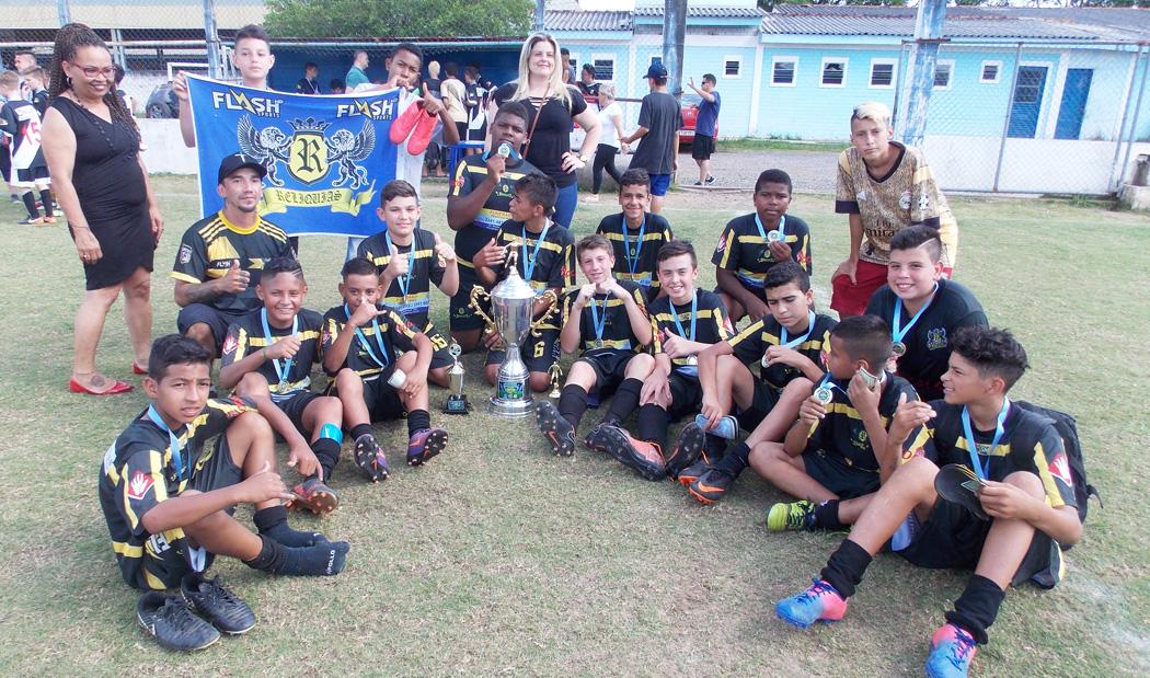 d2cd102650 Esporte em Cachoeirinha  Projeto Reliquias Onze Unidos campeão da Sub 13