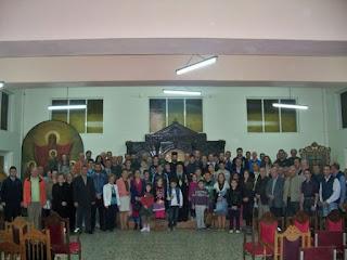 ''Προσφορά από την Σχολή Βυζαντινής Μουσικής της Ιεράς Μητροπόλεως Λαρίσης και Τυρνάβου''