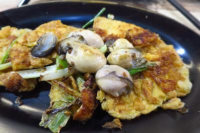 Maddie's Kitchen, oyster omelette