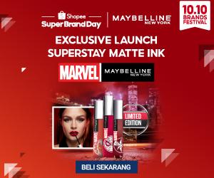 promo maybelline marvel