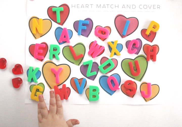 Preschool Valentine Activity