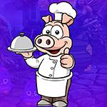 Games4King Pig Chef Escap…