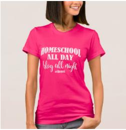 Tshirts for homeschool moms