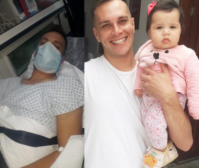 Jovem colombense sofre AVC e família pede ajuda para custear tratamento