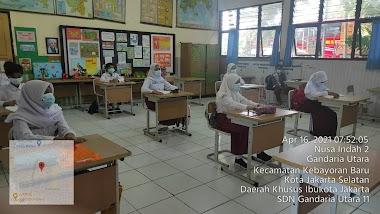Pembelajaran Tatap Muka Terbatas SDN Gandaria Utara 11   16 April 2021