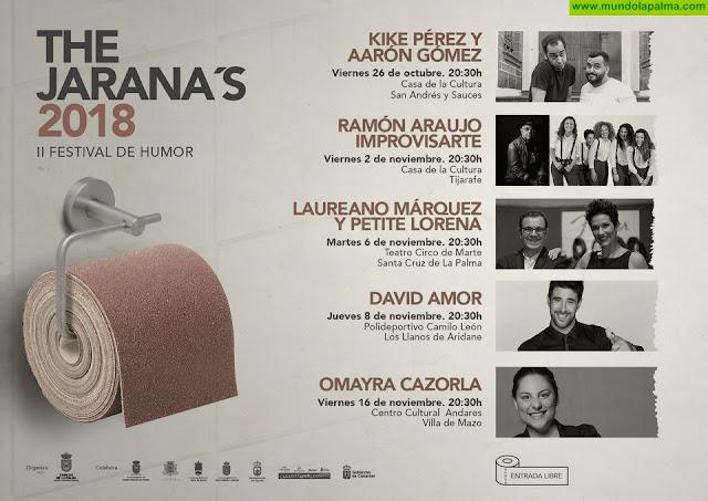 'The Jarana's' ofrece cinco sesiones gratuitas con humoristas destacados del panorama nacional y regional