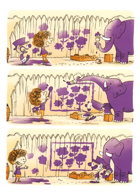 Pullboy et le pull-over violet aux éditions Frimousse planche 22