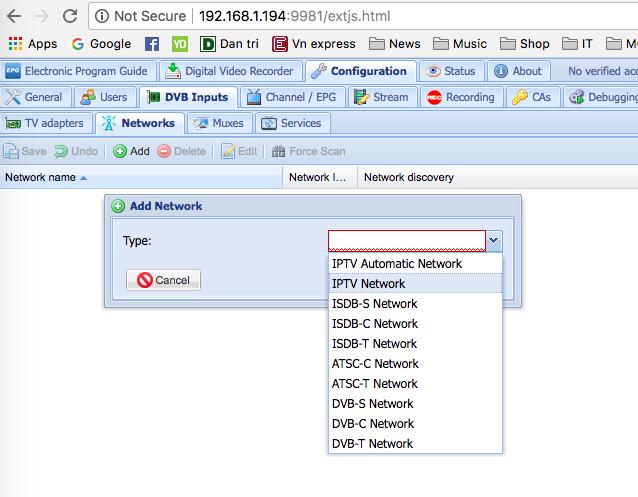 Xem IPTV với Router Openwrt sử dụng TVHEADEND ~ Chia sẻ kinh