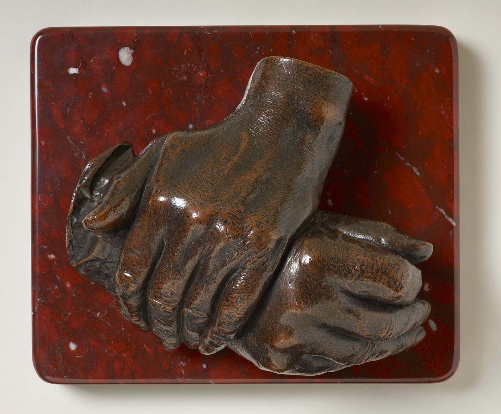 The hands of the Duke of Wellington by Baron Carlo Marochetti  Royal Collection Trust © Her Majesty Queen Elizabeth II 2015
