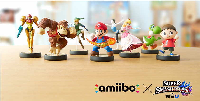 Amiibo Smash Bros.