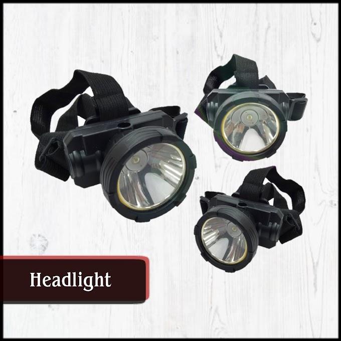 2 Mode High Power Glare LED Headlight, Headlamp.